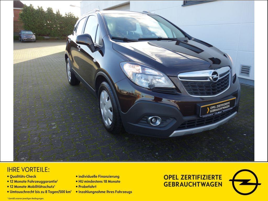 Opel Mokka 1.6 Edition AHK SHZ LHZ, Jahr 2014, Benzin