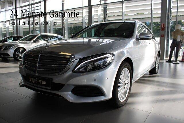 Mercedes-Benz C 250 T EXCLUSIVE+LED+Sitzhzg.+AHK bis 400 kg BC, Jahr 2018, Benzin
