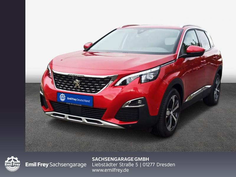 Peugeot 3008 PureTech 180 GPF EAT8 Allure Full-LED, Jahr 2018, Benzin
