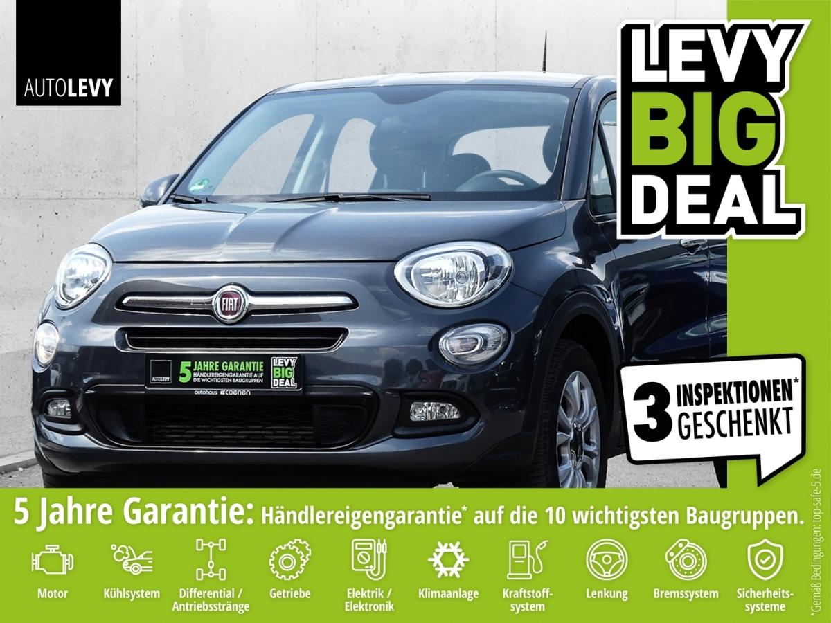 Fiat 500X 1.4 S+S POP STAR KLIMA*BLUETOOtH*TEMPOMAT, Jahr 2016, Benzin