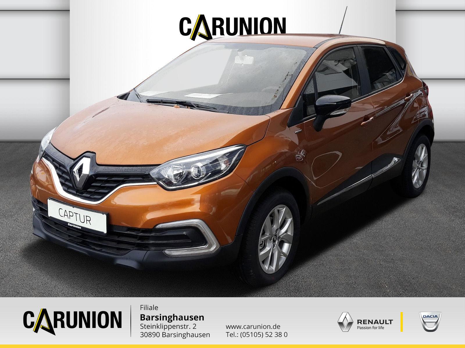 Renault Captur LIMITED ENERGY TCe 90, Jahr 2018, Benzin