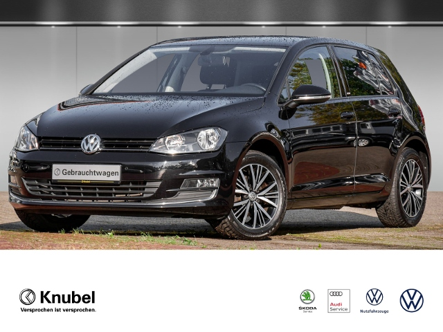 Volkswagen Golf VII Allstar 1.2 TSI AHK PDC Tel. Sitzh. Alu, Jahr 2016, Benzin