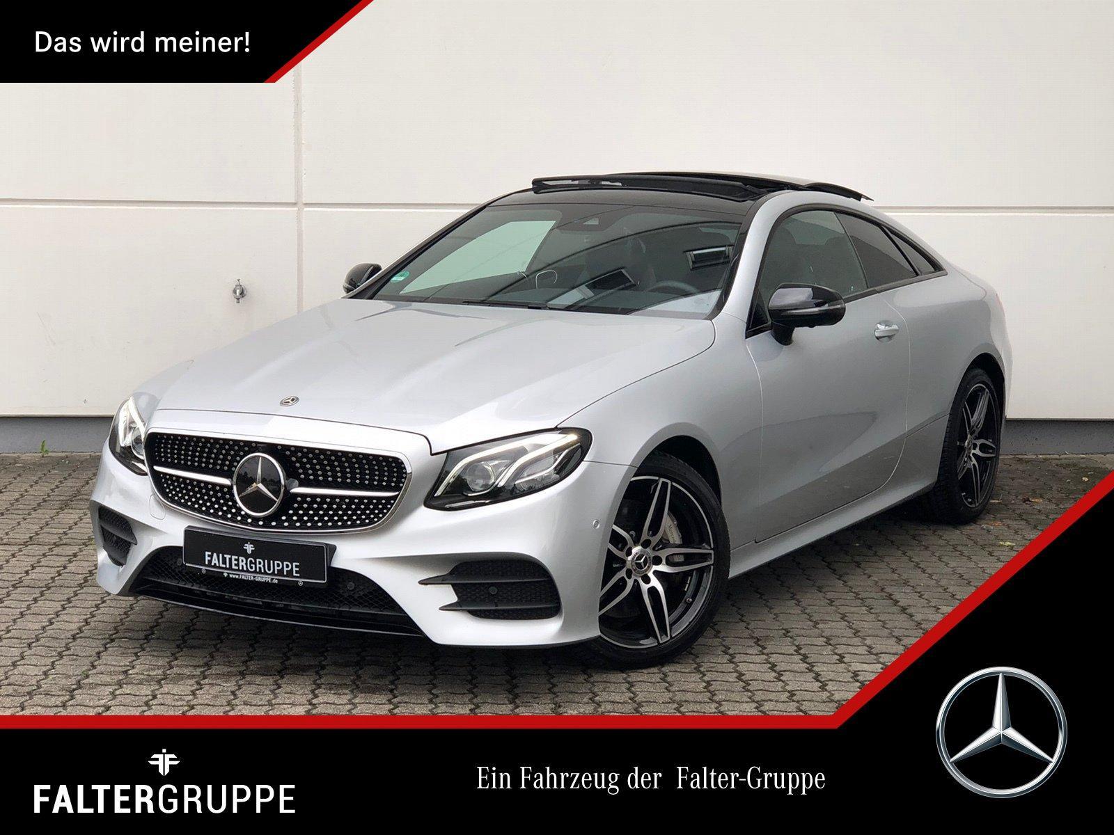 Mercedes-Benz E 450 Cpé AMG Night DISTR Pano 360°MLED Widescrn, Jahr 2018, Benzin