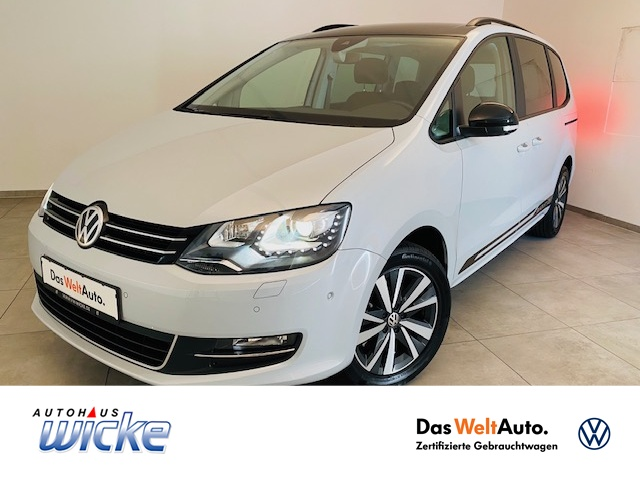 Volkswagen Sharan 2.0 TDI DSG Style ACC Xenon Navi DAB EU6, Jahr 2020, Diesel