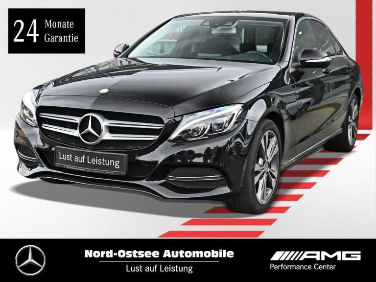 Mercedes-Benz C 180 Avantgarde Navi HUD LED Parktronic Sitzhzg, Jahr 2014, Benzin
