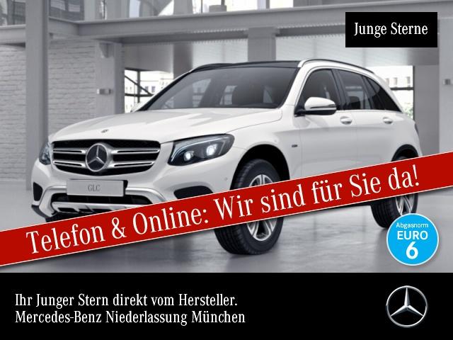 Mercedes-Benz GLC 350 e 4M AMG Fahrass Pano Distr. ILS LED AHK, Jahr 2017, Benzin
