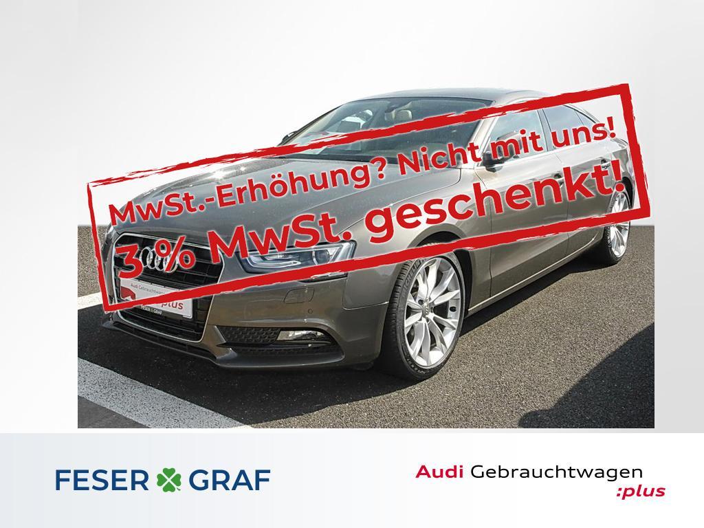 Audi A5 Sportback 2.0 TFSI multitronic ACC AHK, Jahr 2013, Benzin