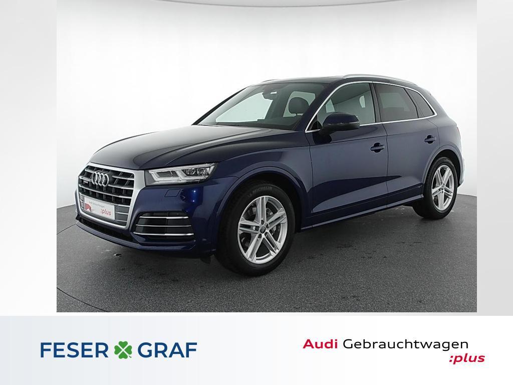 Audi Q5 2.0TFSI qu 3x S Line Pano,Kamera,LED,Luft/air, Jahr 2018, Benzin