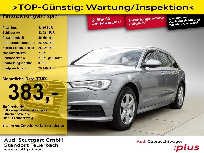 Audi A6 Avant 3.0 TDI quattro AHK Leder Xenon Navi, Jahr 2017, Diesel