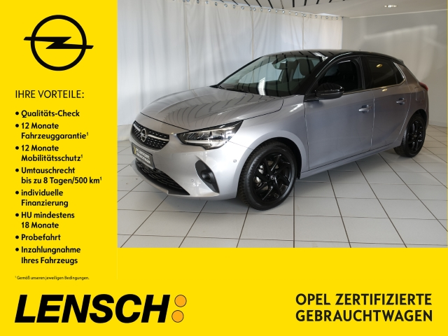 Opel Corsa F 1.2 Elegance KLIMAAUTOM+SITHZ+PDC+AWR+BT, Jahr 2019, Benzin