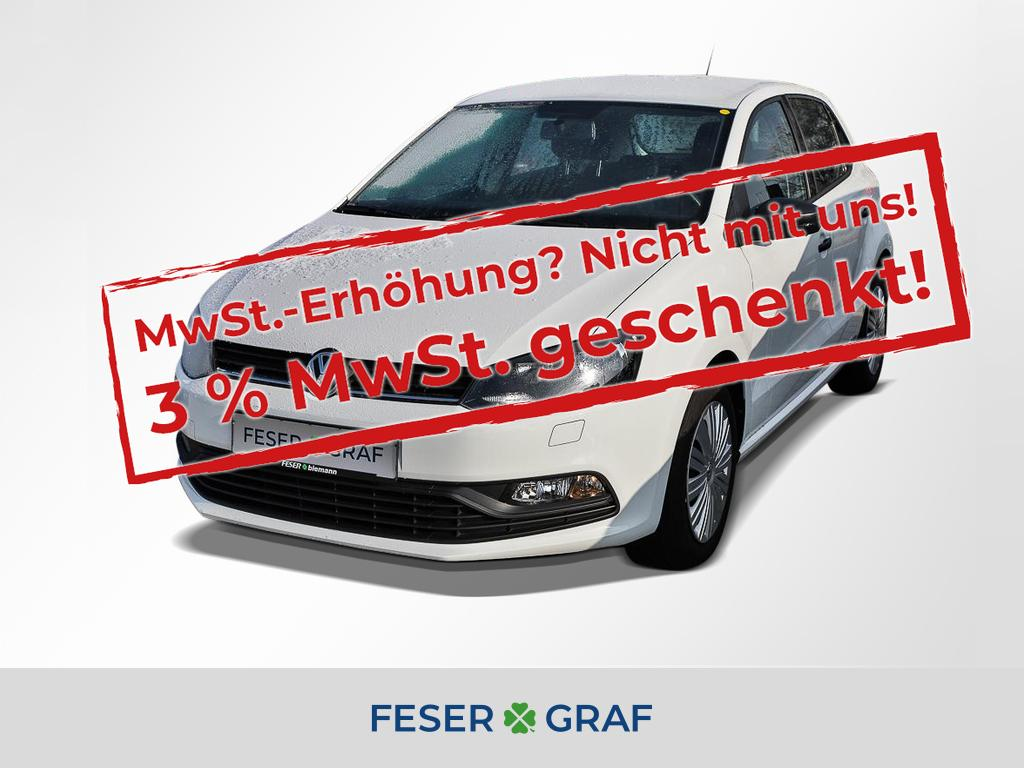 Volkswagen Polo 1.0 TSI Trendline BMT 4 Türer Sitzhz. Klima, Jahr 2016, Benzin