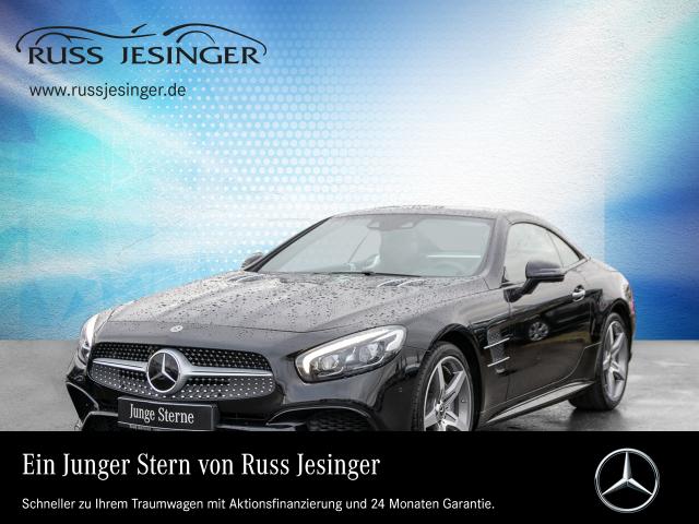 Mercedes-Benz SL 400 AMG +COMAND+DISTR.+ILS+ABC+HARMAN KARD.+, Jahr 2017, petrol