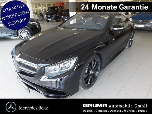 Mercedes-Benz S 63 4M Coupé Night -SONDERKONDITIONEN-STANDHZG, Jahr 2017, Benzin