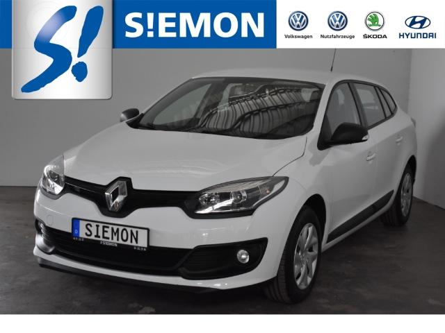 Renault Megane Grandtour 1.6 16V 110 Klima AHK GRA eFH Radio-CD, Jahr 2015, Benzin