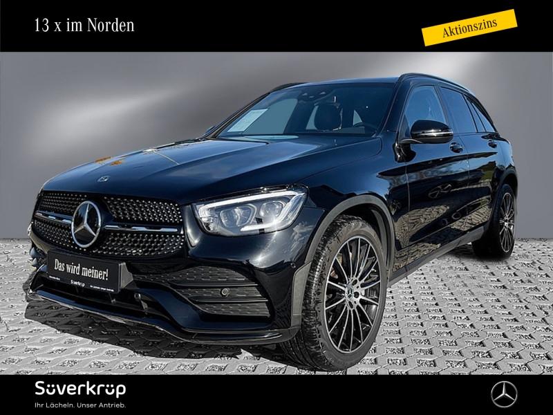 Mercedes-Benz GLC 400 d 4M AMG/Burmester/Fahrassist., Jahr 2020, Diesel