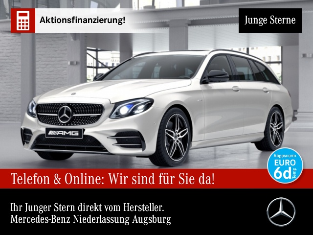 Mercedes-Benz E 53 AMG T 4M+ Fahrass.Wide.COM.SHD.Multi.360°, Jahr 2019, Benzin