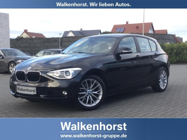 BMW 120 d Navi 17-Zoll Xenon Kurvenlicht AHK PDCv+h, Jahr 2014, diesel