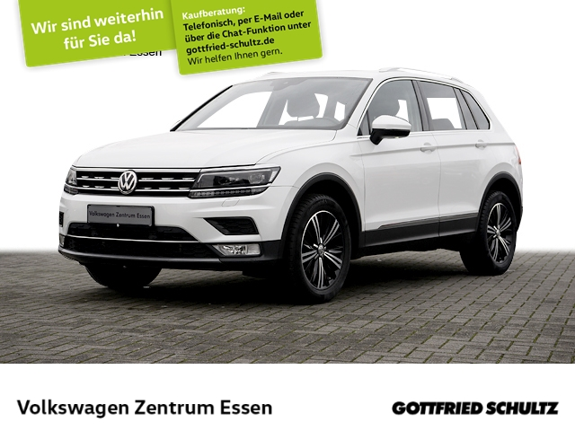 Volkswagen Tiguan Highline 1.4 TSI 4Motion Pano LED AHK, Jahr 2016, Benzin