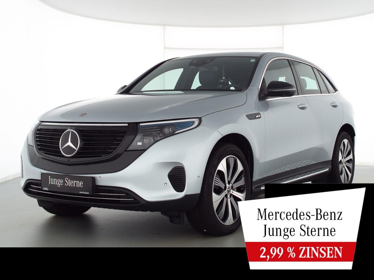 Mercedes-Benz EQC 400 4M MBUX+Burm+Mbeam+20+Fahrassist+Mem+360, Jahr 2020, Elektro