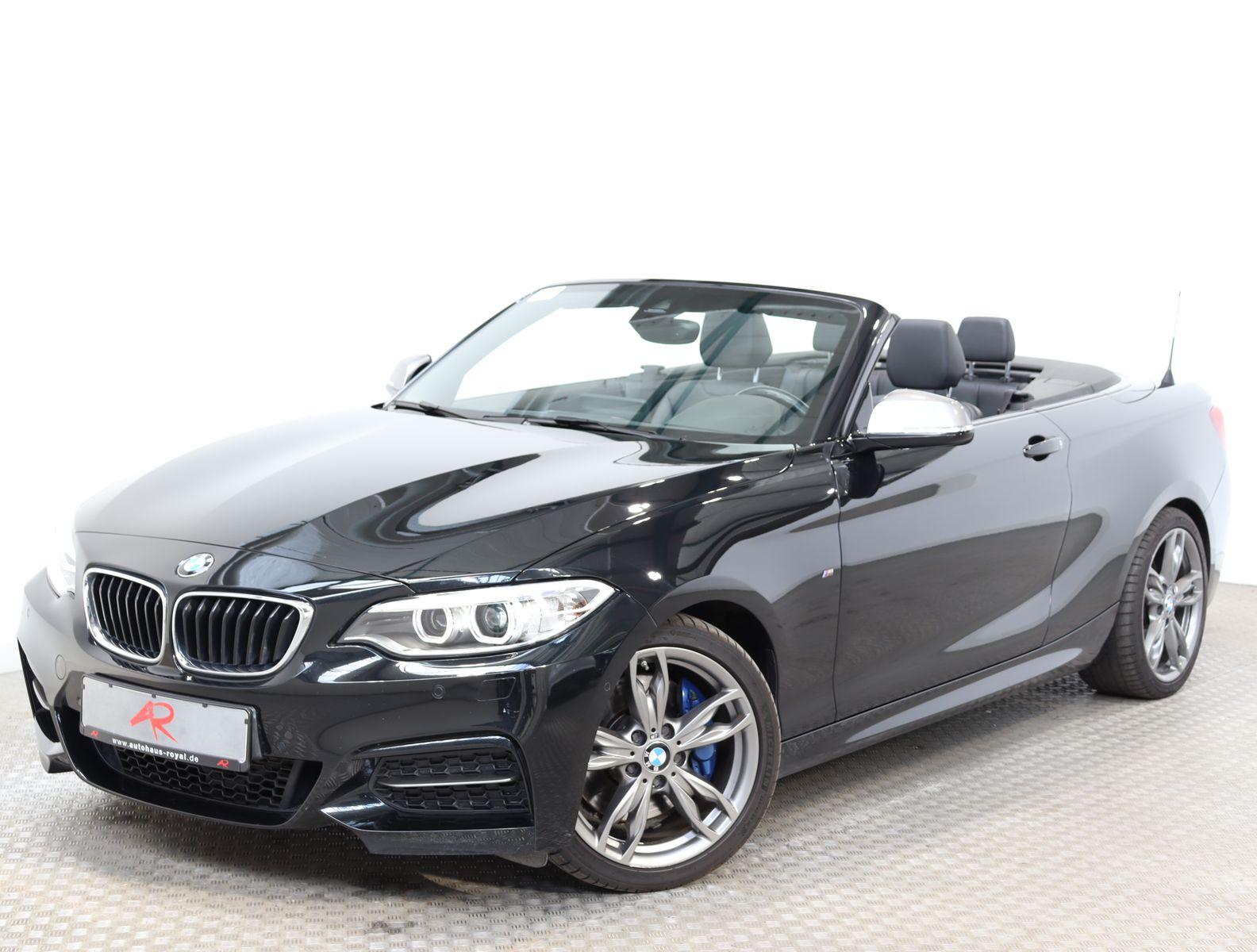 BMW M235i Cabrio SAG NAVIPROF,KEYLESS,M SPORTBREMSEN, Jahr 2015, Benzin