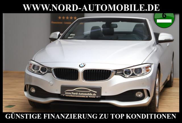 BMW 420d Cabrio Automatik*Leder*Navi*Xenon*PDC* Cabr, Jahr 2014, Diesel