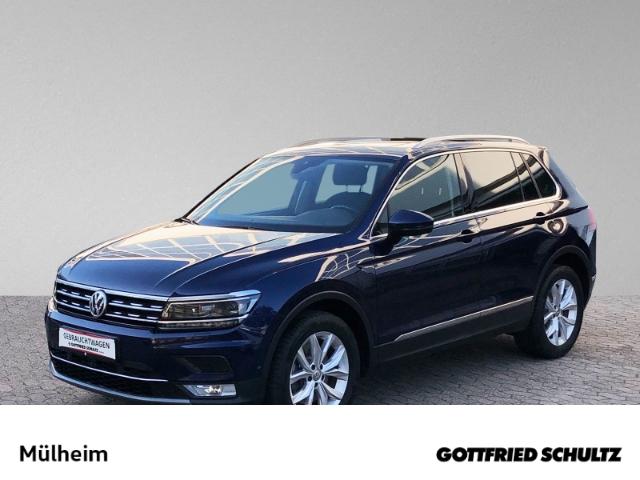 Volkswagen Tiguan 2.0 TDI DSG AHK STHZ NAVI LED SIH Highline, Jahr 2017, Diesel