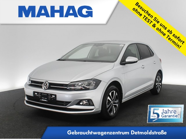 Volkswagen Polo 1.0 TSI UNITED Navi ActiveInfo AppConnect Sitzhz. FrontAssist 15Zoll 6-Gang, Jahr 2020, Benzin