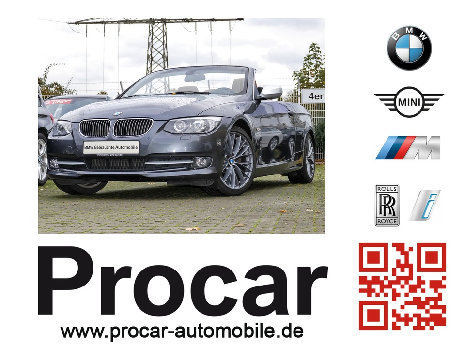 BMW 330i Cabrio Edition Exclusive // H&K DAB Navi, Jahr 2013, petrol