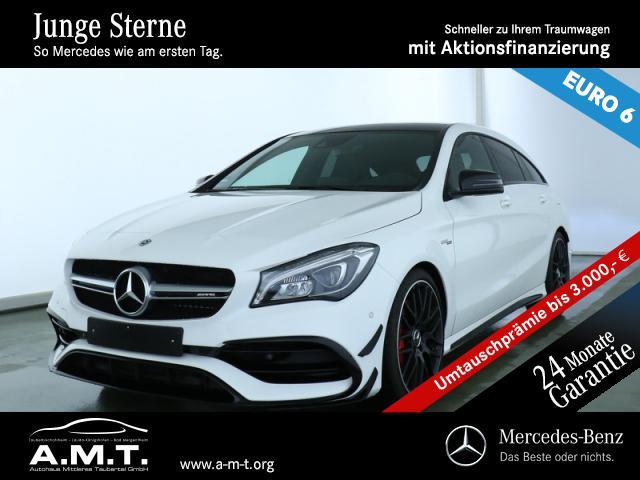 Mercedes-Benz CLA 45 4M SB Aero Performance-Sitze NP: 75.999,-, Jahr 2018, Benzin