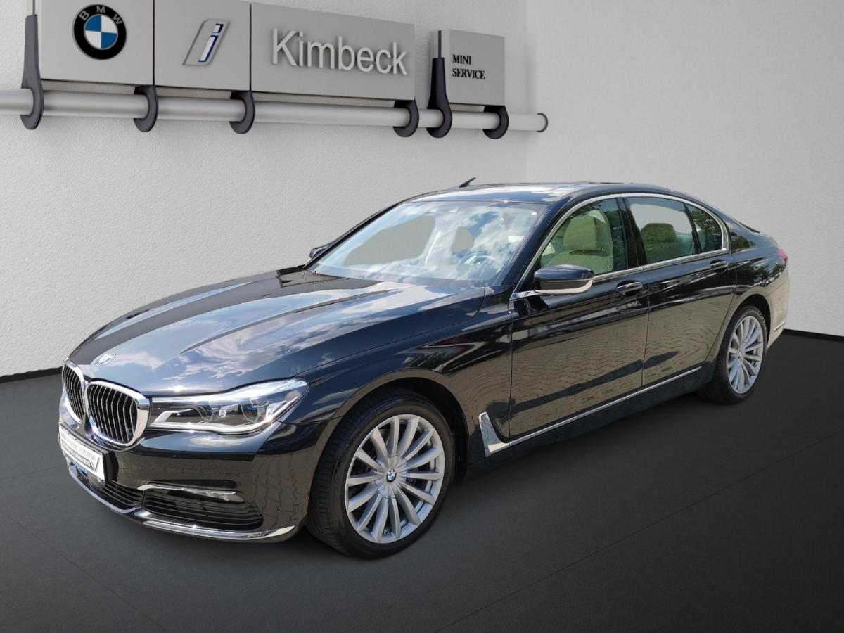 BMW 740d xDrive AHK Laser Massagesitze 2 J.Garantie, Jahr 2017, Diesel
