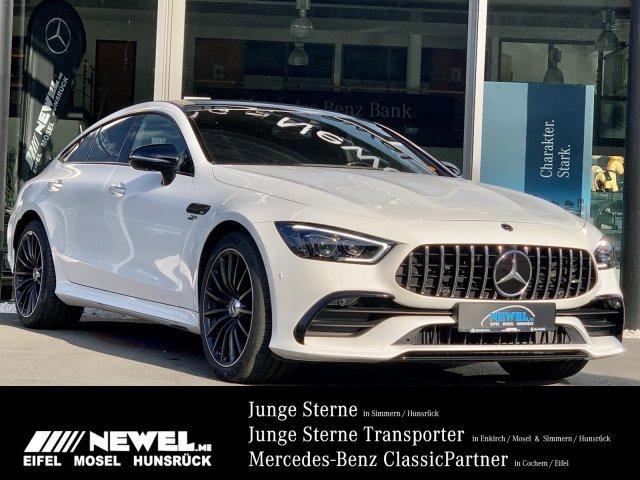 Mercedes-Benz AMG GT 43 4M+ STANDH*PERF*MASSAGE*SITZKLIMA*BURM, Jahr 2019, Benzin