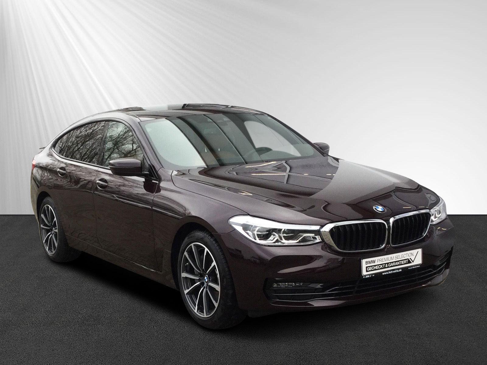 BMW 630 Gran Turismo GT Sport Line AHK Soft.-Cl. HUD, Jahr 2018, diesel