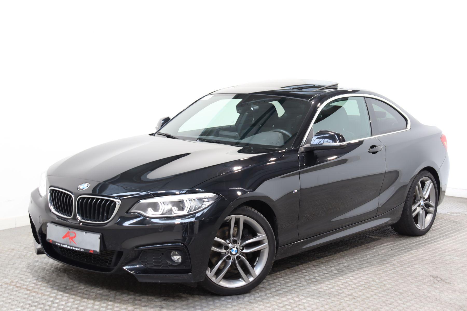 BMW 225 d Coupe M SPORT LED,NAVI,KEYLESS,GLASDACH, Jahr 2017, Diesel