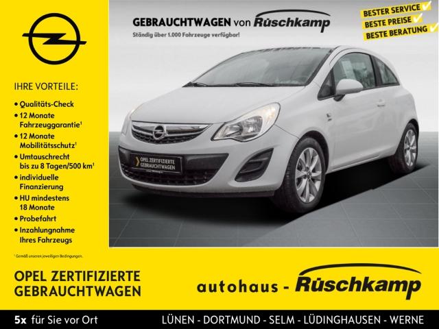 Opel Corsa D Active 1.2 Klima Temp CD AUX MP3 ESP Seitenairb. BC Scheckheft Gar. Alu Radio, Jahr 2013, Benzin