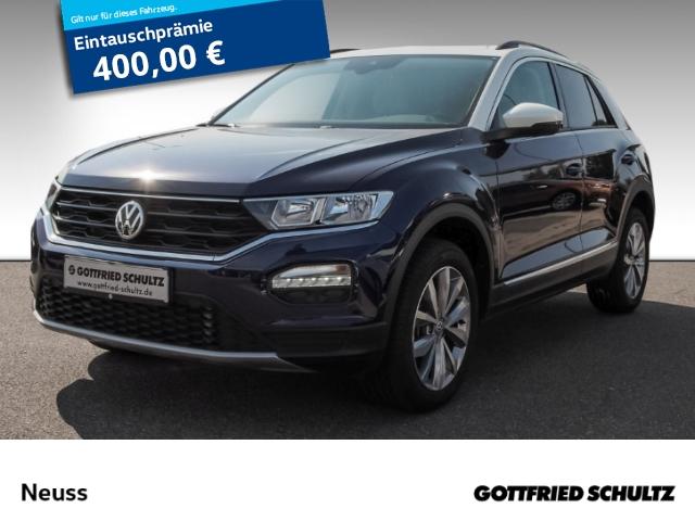 Volkswagen T-Roc 2,0 TDI DSG+LEDER+KAMERA+AHK+ACTIVE-INFO Style, Jahr 2019, Diesel