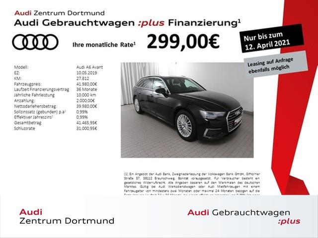 Audi A6 Avant 45TDI qu. Navi+/Pano/Leder/AHK/Kamera, Jahr 2019, Diesel