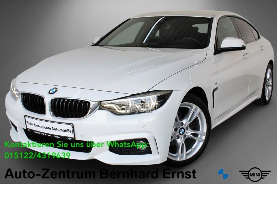 BMW 420 Gran Coupe M Sport HuD RTTI HarKar LED, Jahr 2019, Benzin