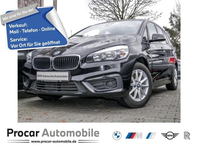 BMW 218 Gran Tourer Sportsitze AHK Shz Navi PDC hi, Jahr 2017, Diesel