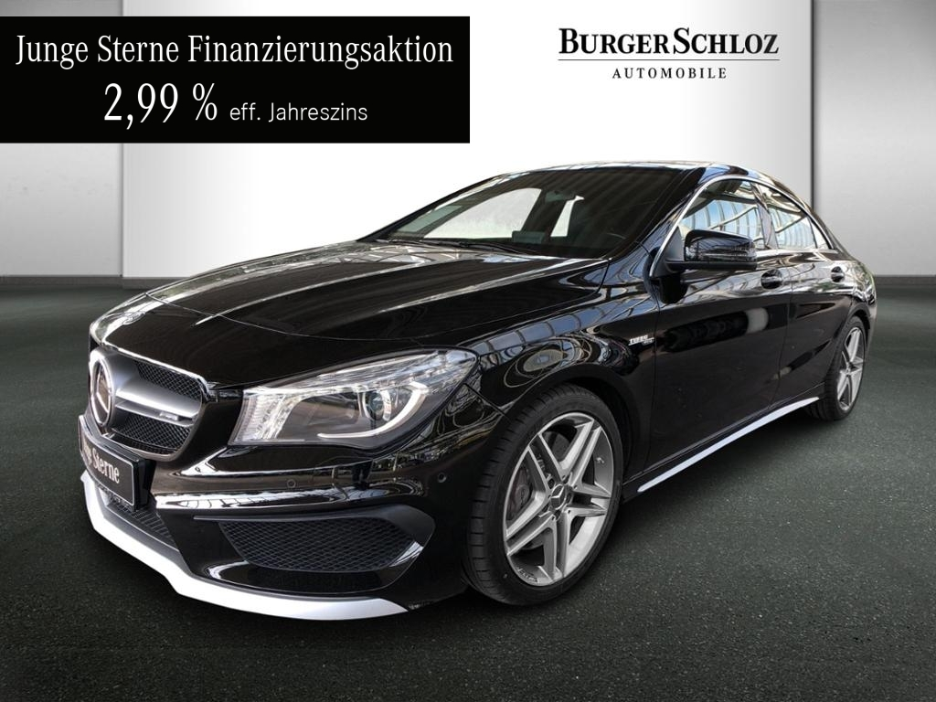 Mercedes-Benz CLA 45 AMG 4MATIC Coupé Designo/Distronic, Jahr 2015, Benzin