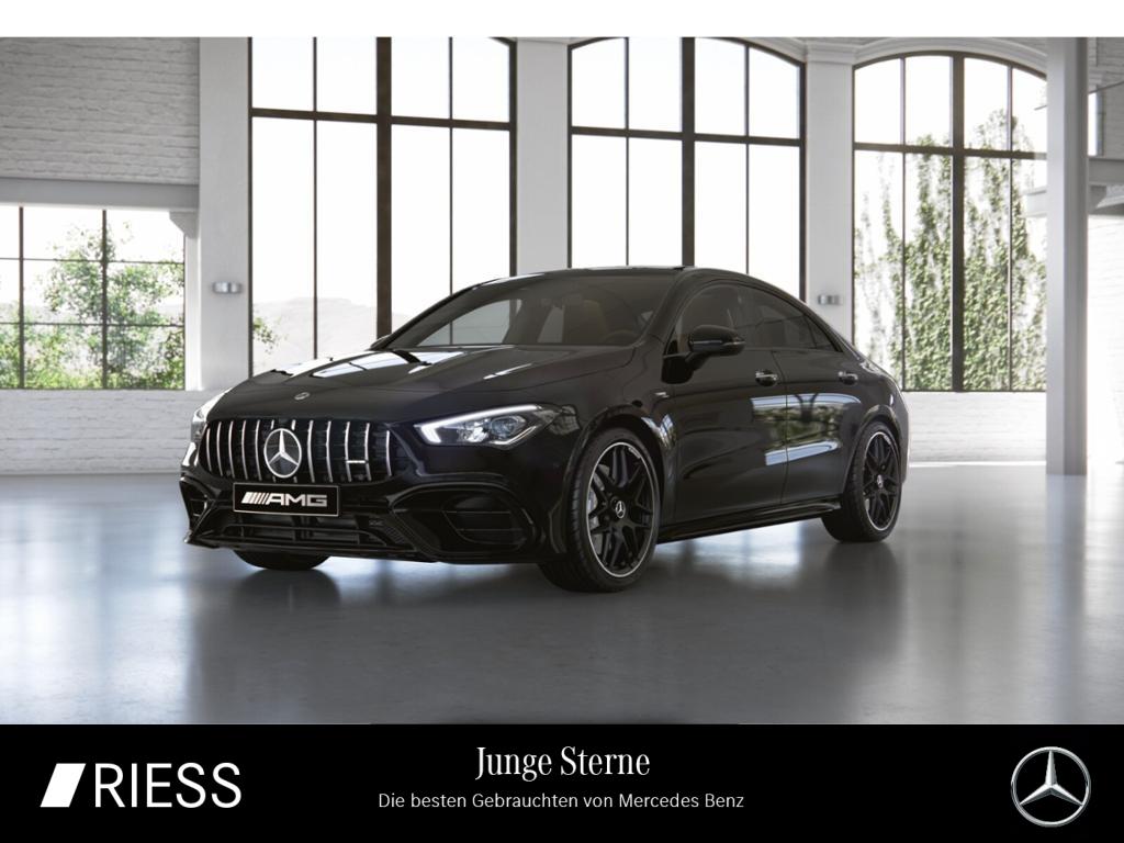 Mercedes-Benz CLA 45 AMG 4M Cp Night Navi LED Pano Ambiente Ka, Jahr 2020, Benzin