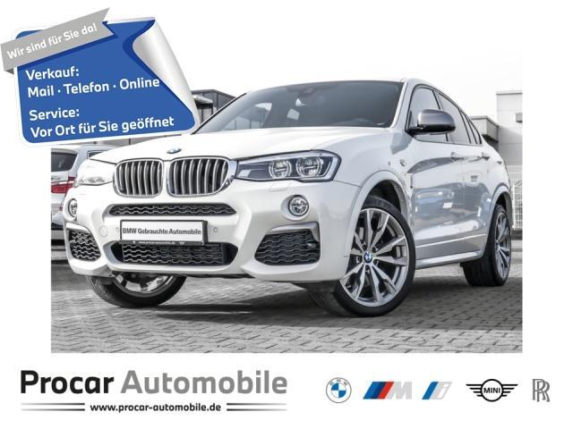 BMW X4 M40i M Sport // HuD HiFi DAB Glasdach, Jahr 2018, Benzin