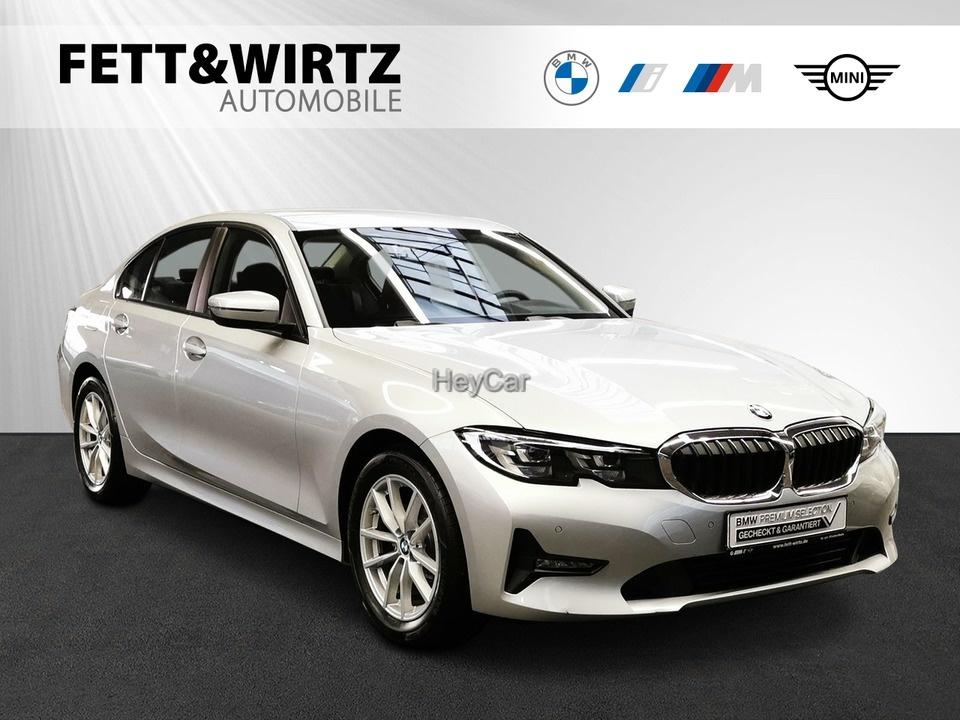 BMW 318d Navi LED SHZ 17'' PDC Leas. ab 319,- br.o.A., Jahr 2019, Diesel