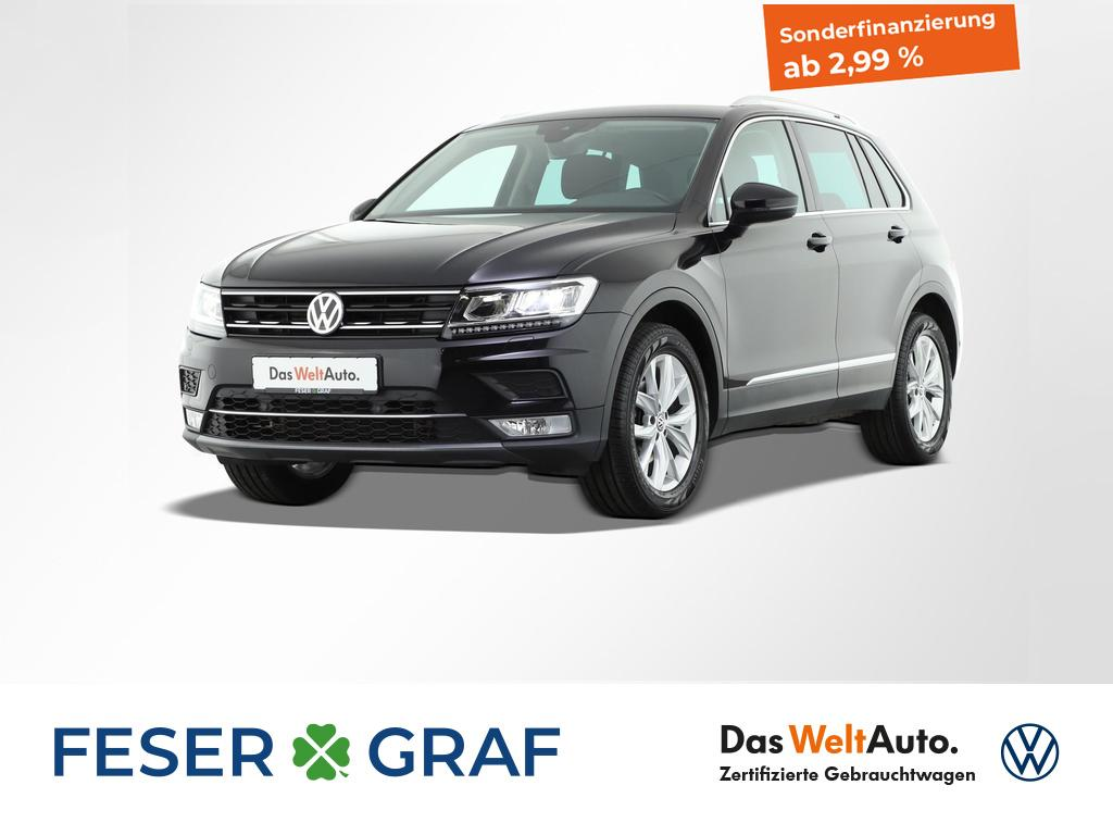 Volkswagen Tiguan 2.0 TDI Highline 4x4 Navigationssystem LE, Jahr 2016, Diesel