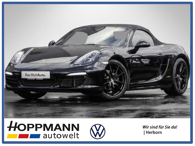 Porsche Boxster 2.7 Black Edition PDK BOSE NAVI SPORT-AUSPUFF, Jahr 2015, Benzin