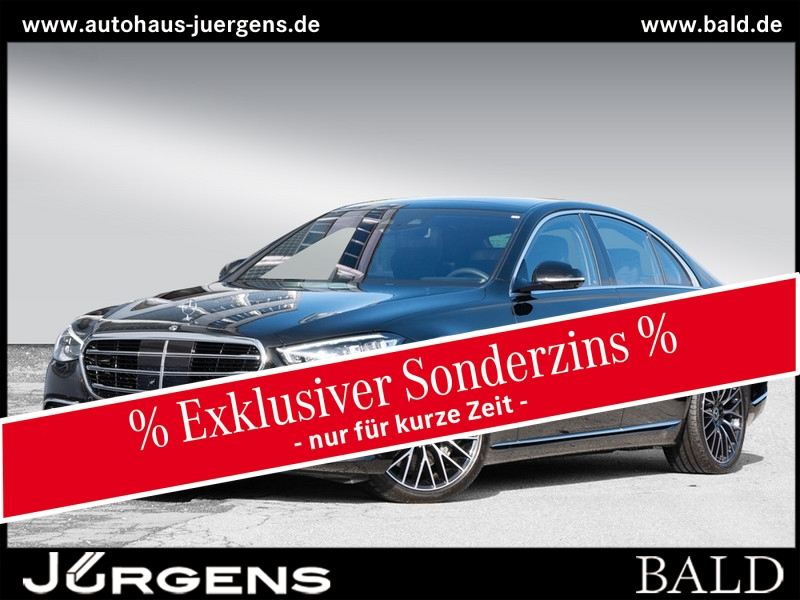 Mercedes-Benz S 500 4M Digital-Light/Burm4D/Exklusiv/Stdhz/HUD, Jahr 2020, Benzin