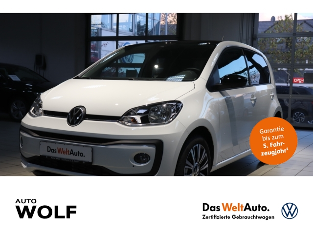 Volkswagen up! Black Style 1.0 EU6d Rückfahrkam. LED-Tagfahrlicht Multif.Lenkrad RDC Klimaautom, Jahr 2020, Benzin