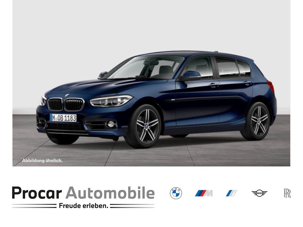 BMW 118d Sport Line Aut. Sitzh. Klimaaut. Lenkradh. Hifi ParkAss. NaviBusiness, Jahr 2017, Diesel