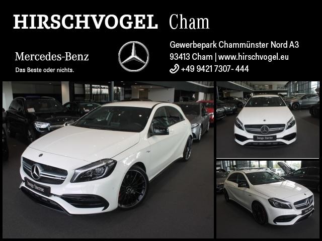 Mercedes-Benz A 45 AMG 4M Night+Navi+LED+Kam+PDC+SHZ+Totwinkel, Jahr 2017, Benzin
