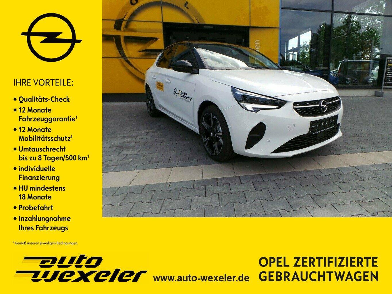 "Opel Corsa F Elegance 100PS,Sitzheiz.,17"",Park&Go, Jahr 2021, petrol"