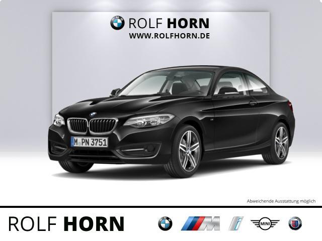 BMW 220i Coupe Sport Line Klima PDC Sitzhzg Freispr., Jahr 2014, Benzin